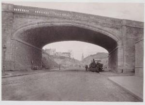 Pont du chemin de fer de Sceaux et percement de la rue d'Alésia