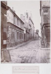 Rue de Port-Royal de la rue des Capucins