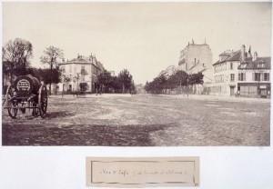 Rue d'Enfer de la route d'Orléans