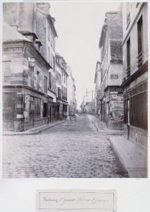 Rue du Faubourg Saint-Jacques de la rue Saint-Jacques