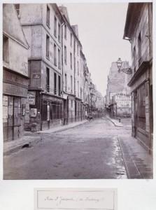 Rue Saint-Jacques du Faubourg Saint-Jacques