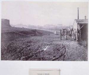 Carrières d'Amérique des fortifications vers les Buttes-Chaumont