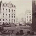 Percement de l'avenue de l'Opéra entre la rue Louis-le-Grand et la rue d'Antin