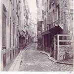 Rue de l'Arche-Marion du quai de la Mégisserie