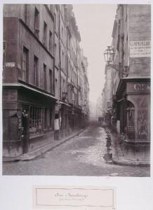 Rue Beaubourg de la rue au Maire, vers le sud