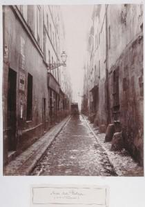 Rue des Vertus de la rue Phélippeaux