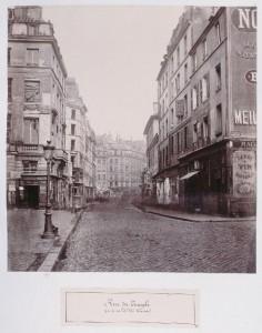 Rue du Temple de la rue Dupetit-Thouars