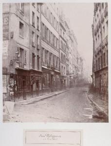 Rue Phélippeaux de la rue Volta