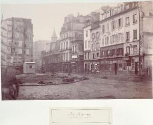 Rue Réaumur de l'ancien carré Saint-Martin