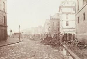 Percement du boulevard Henri IV au niveau du quai des Célestins et de la rue de Sully