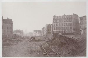 Percement du boulevard Henri IV - place de la Bastille