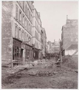 Rue Castex du boulevard Henri IV