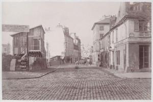 Rue de la Cerisaie du boulevard Bourdon