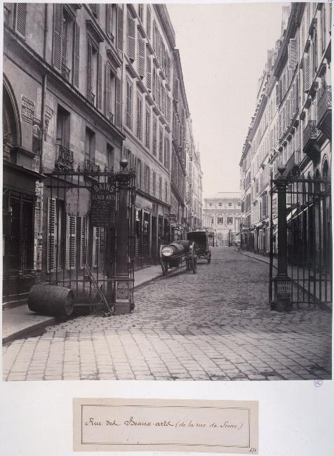 Marville 6e arrondissement carpe horas - Rue des beaux arts ...