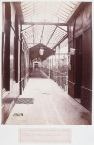 marville 8e et 9e - passage de l'opera de la rue lepeletier vers la rue drouot