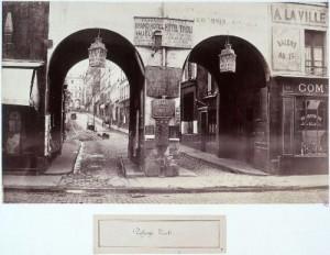 marville 8e et 9e - passage tivoli de la rue saint-lazare