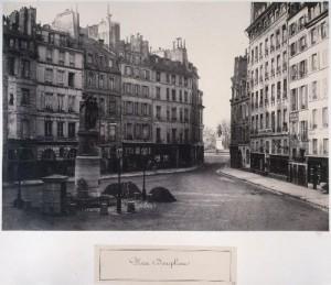 Place Dauphine et Fontaine Desaix