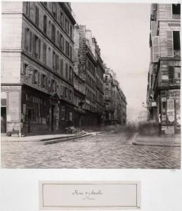 Rue d'Arcole du parvis de Notre-Dame