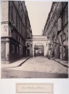 Rue de Harlay au Palais de Justice