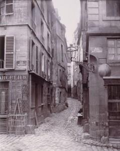 Rue de la Colombe de la rue Basse-des-Ursins du côté du quai Napoléon