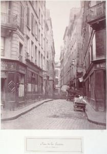 Rue de la Licorne de la rue Constantine