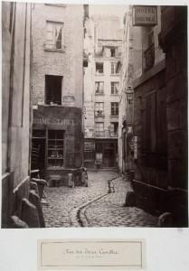 Rue des Trois Canettes de la rue de la Licorne