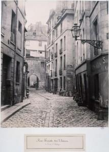 Rue Haute-des-Ursins de la rue Saint-Landry