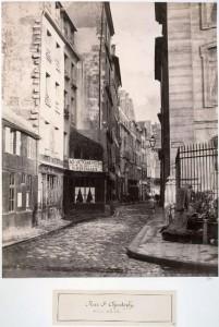 Rue Saint-Christophe de la rue de la Cité