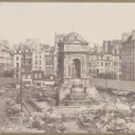 Marché des Innocents entre 1847 et 1857