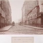 Rue Coquillière de la rue Jean-Jacques Rousseau en direction des Halles