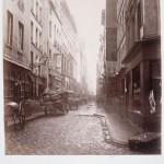 Charles Marville (1860s) - Rue de la Grande Truanderie viewed from the Rue Montorgueil