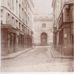 Rue de Sartine de la rue Coquillière