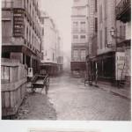 Rue des Bourdonnais de la rue de la Poterie