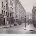Rue des Innocents de la rue Saint-Denis, en direction de la rue de la Lingerie