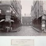 Rue du Contrat-Social du pavillon des Halles