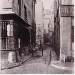 Rue du Plat d'Étain de la rue des Lavandières