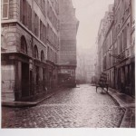 Charles Marville (1860s) - Rue Mauconseil viewed from the Rue Mondétour
