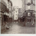 Charles Marville (1860s) - Rue Pirouette viewed from the Rue Rambuteau