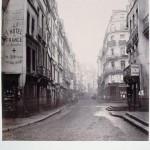 Rue Saint-Denis de la rue aux Ours vers le nord