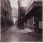 Rue Sauval de la rue Saint-Honoré