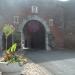 Entrance through the ramparts to the upper town