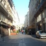The rue du Cygne.