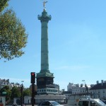 The July Column, on the former site of Napoléon's elephant in the Place de la Bastille