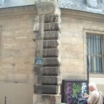 Fragment of the wall of La Force in the rue Pavée