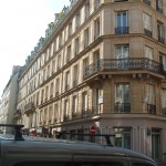 Another of the blocks formerly occupied by the prison of La Force