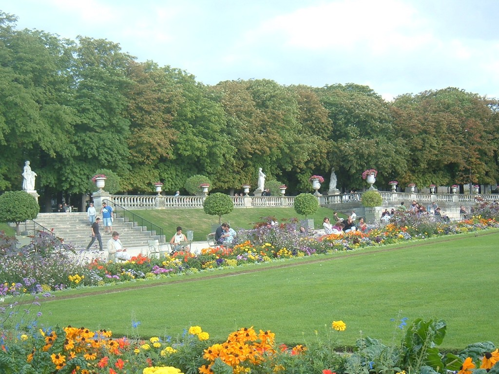 The jardin du luxembourg carpe horas for Jardin du luxembourg