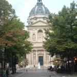 The Place de la Sorbonne from the Boulevard St-Michel