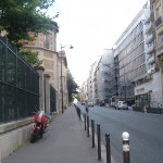Rue d'Assas, former rue de l'Ouest. Valjean and Cosette had a house in this street, which borders the Jardin du Luxembourg.