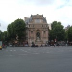 Not this Place Saint-Michel! You want the Place Edmond Rostand.