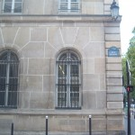 Corner of the Rue Oudinot, formerly Rue Plumet